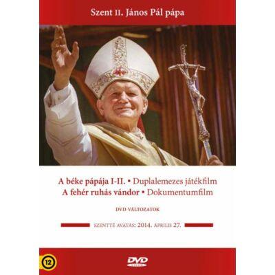 Szent II. János Pál pápa díszdoboz