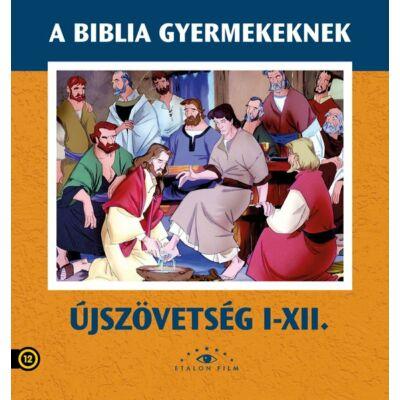 Az Újszövetség 1-12. díszdoboz